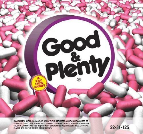 - Good and Plenty Vending Candy - 30 lbs.