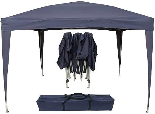Airwave 3 X 3m Pop Up Gazebo Canopy No Sides Blue