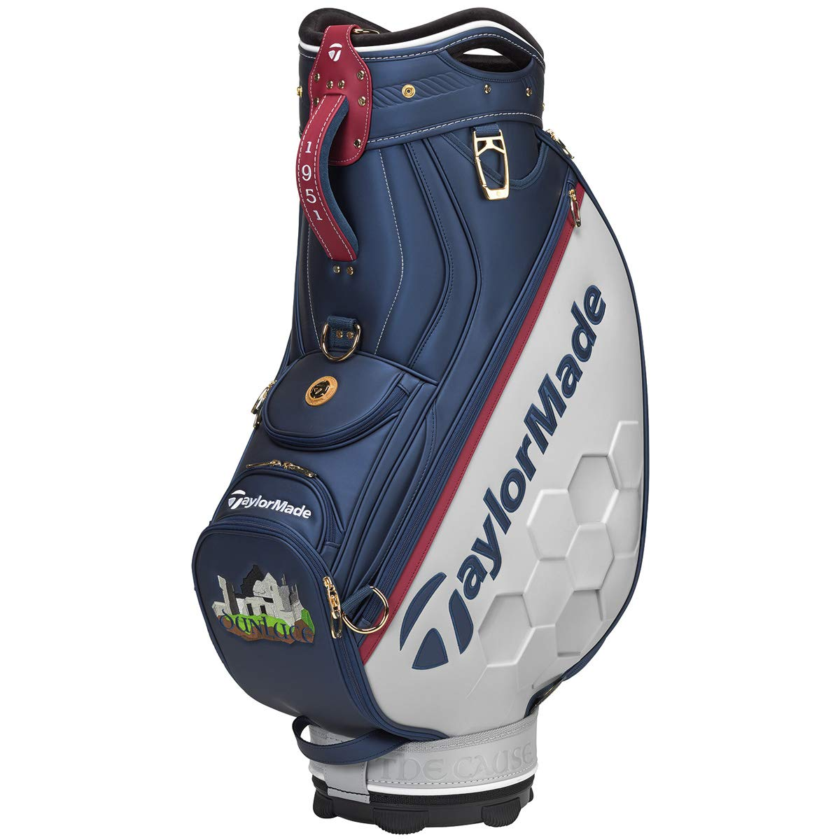 テーラーメイド(Taylormade) 2019 TM19 British Open Staff Bag N65528 Blue/Gray/White B07TFFYHBX