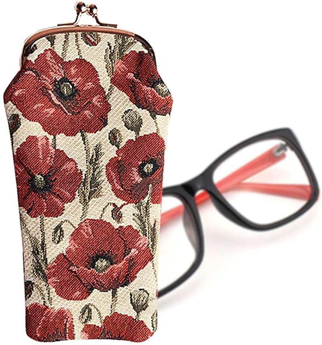 Signare Tapisserie-Brillen-Etui f/ür Damen