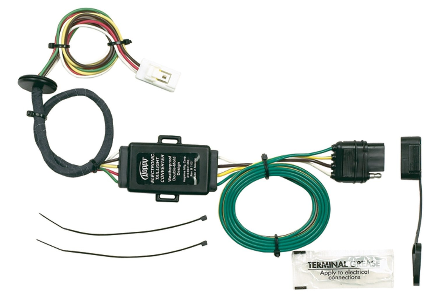 61fZtpD 4JL._SL1500_ amazon com hopkins 43215 plug in simple vehicle wiring kit 1990 Toyota Pickup Wiring Harness at gsmx.co