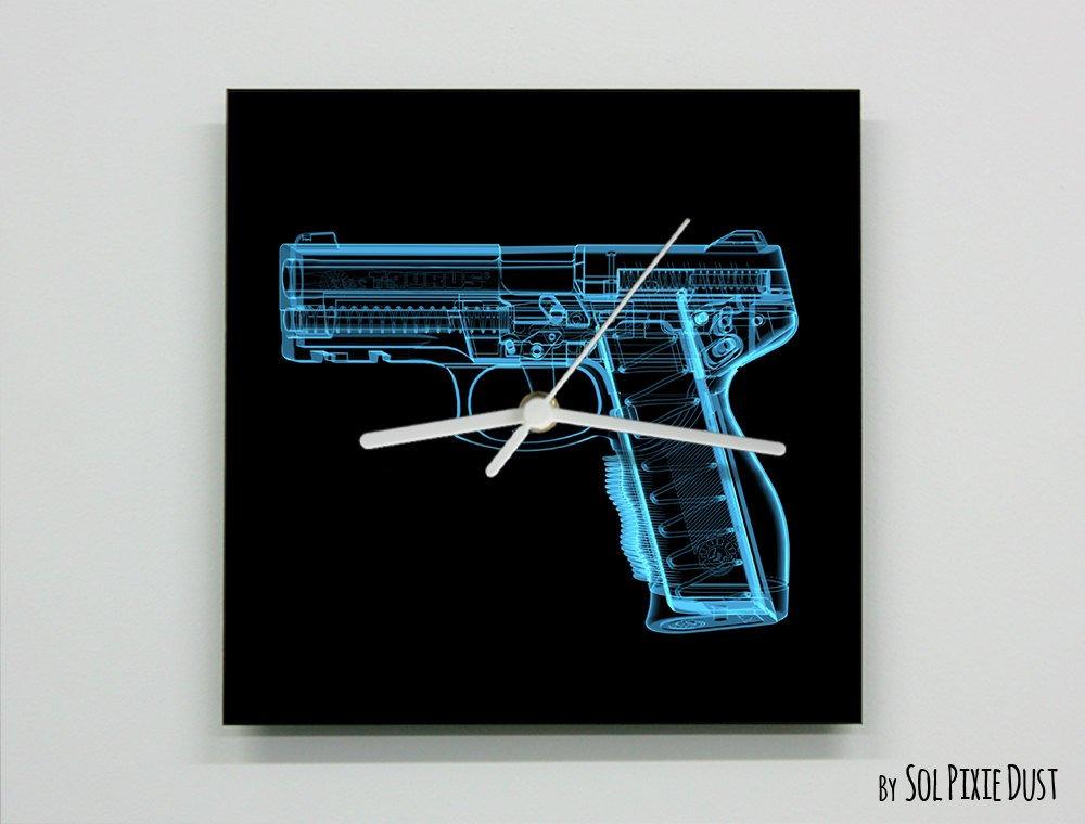 X-Ray Gun Wall Clock