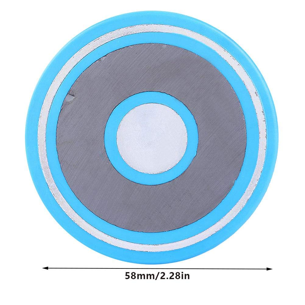 1 Pcs Magnetic Carbon Steel Precision Dial Indicator Magnetic Back Cover Fixing Seat Meter Rear Cover 58mm//2.28inch