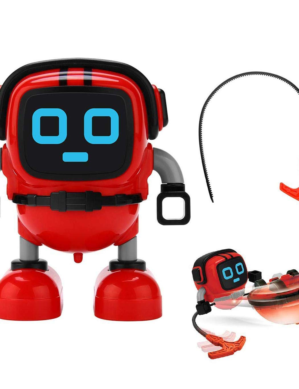 Meflying Children Durable Cute Robot Shape Wind-up Toys Clockwork Toy Wind-Up Toys