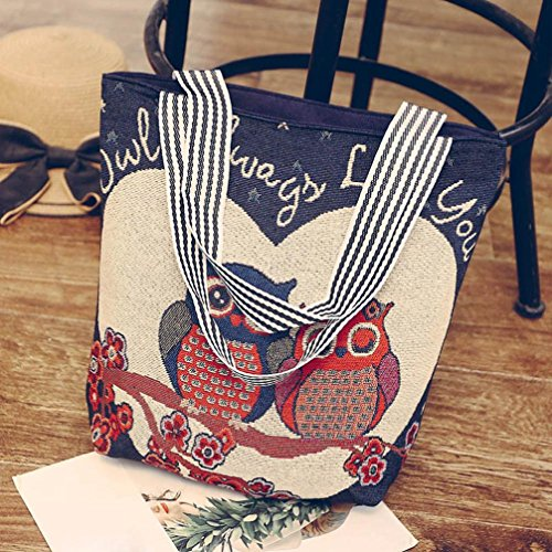 Bags Amlaiworld Ladies A Satchel Women's Handbag Bag Canvas 1PC Bag Handbag Shoulder Messenger G Shoulder Cartoon Tote HqEZnOv