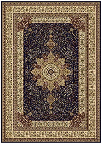 Luxury Navy Persian Style Rug Large 5x7 Living Room Dark Blue 5x8 Dining Rugs Area Floor Medium
