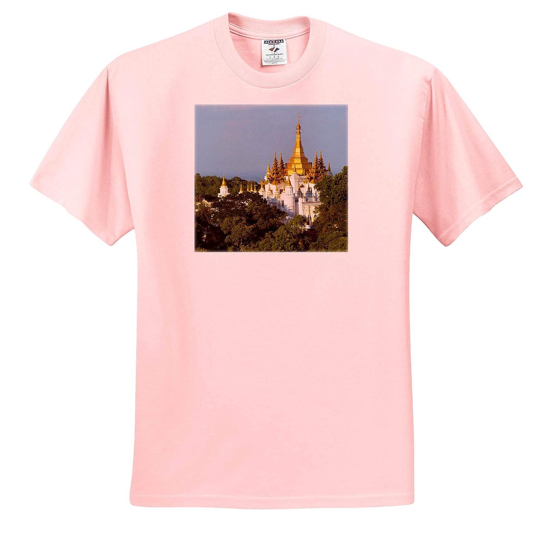 ts/_312596 Adult T-Shirt XL Mandalay Myanmar Pagoda on Sagaing Hill 3dRose Danita Delimont Myanmar