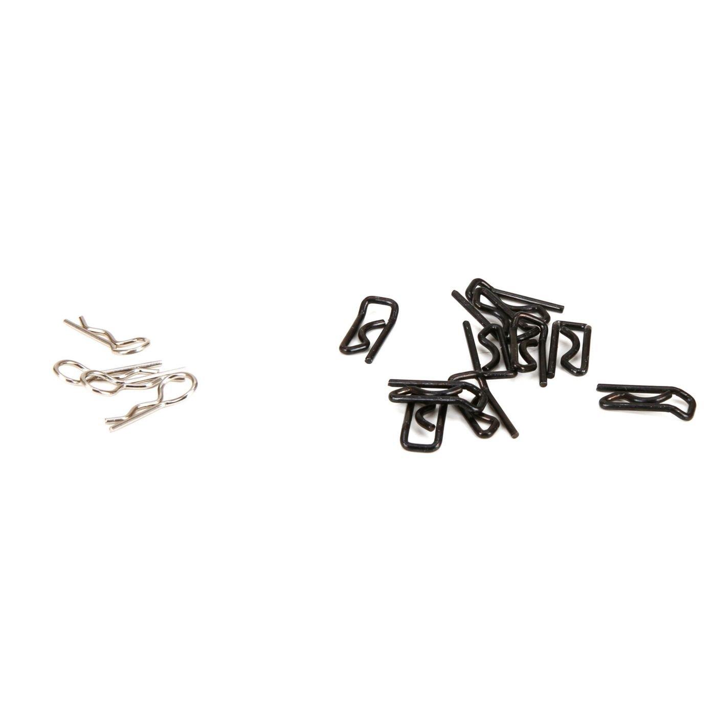 Losi LOS256005 Body Clip Large (10) & Small (4) 1:5 4wd DB XL RC Vehicle Parts Horizon Hobby (US)