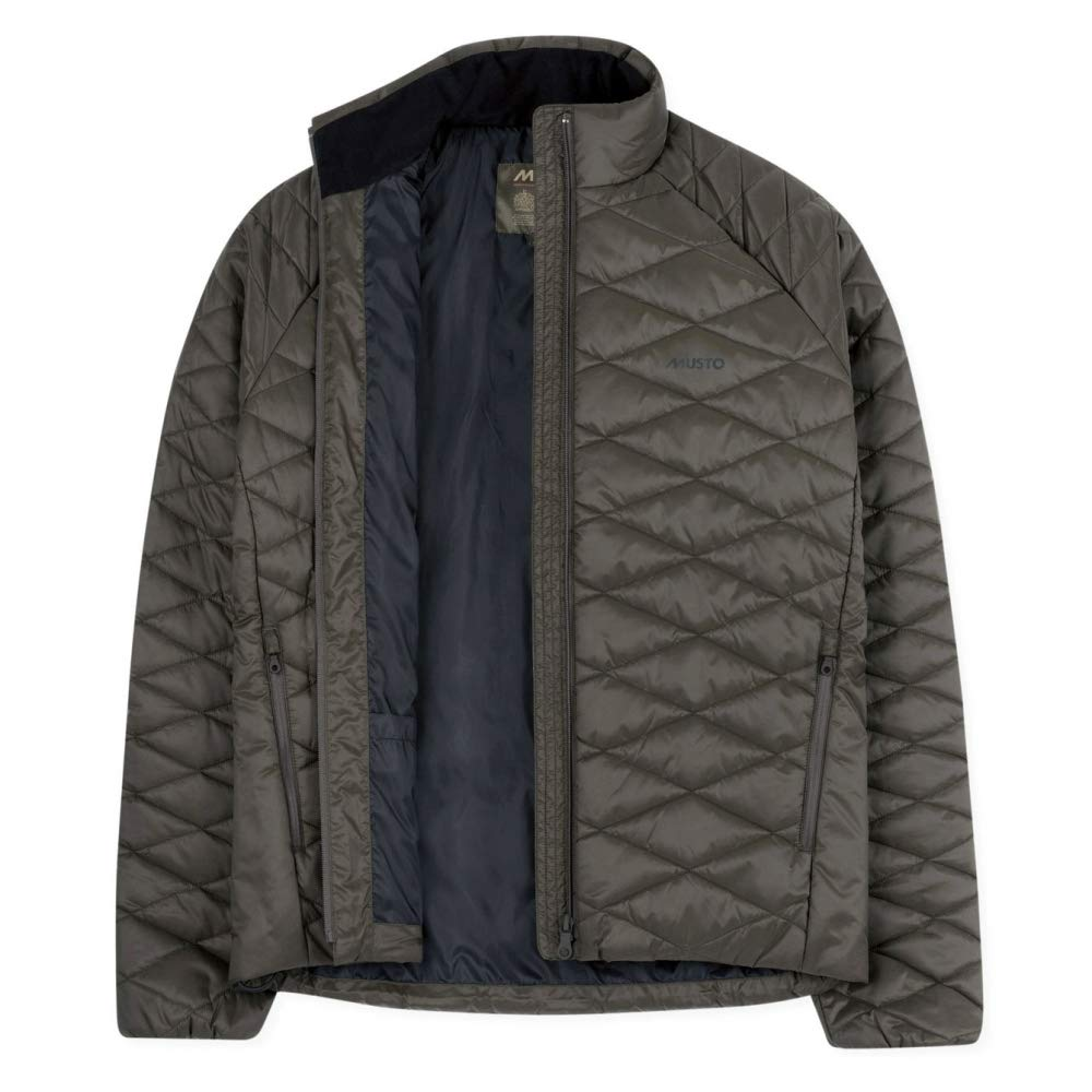 Rifle Green Musto Quilted PL Mens Jacket