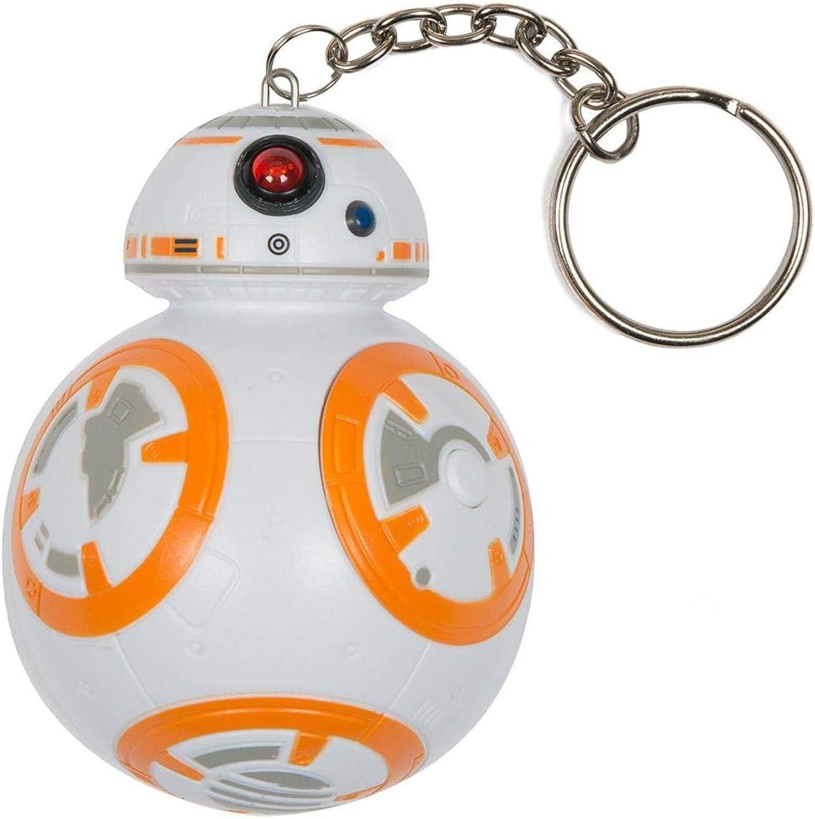 Star Wars 882041031416 Llavero 3D con sonido Bb-8 figura