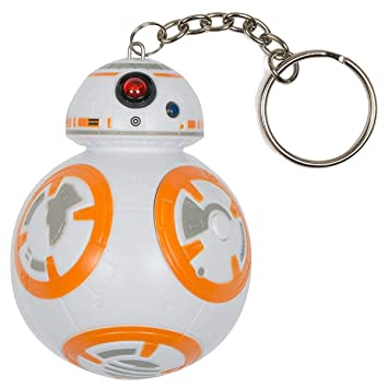 STAR WARS 882041031416 - Llavero 3D con Sonido BB-8: Amazon ...
