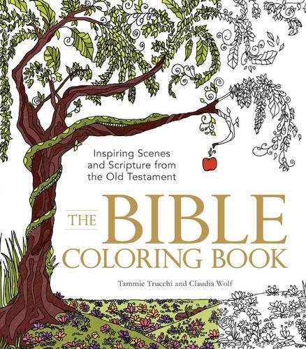 Amazon.com: The Bible Coloring Book: Inspiring Scenes And Scripture From  The Old Testament (0045079595224): Trucchi, Tammie, Wolf, Claudia: Books