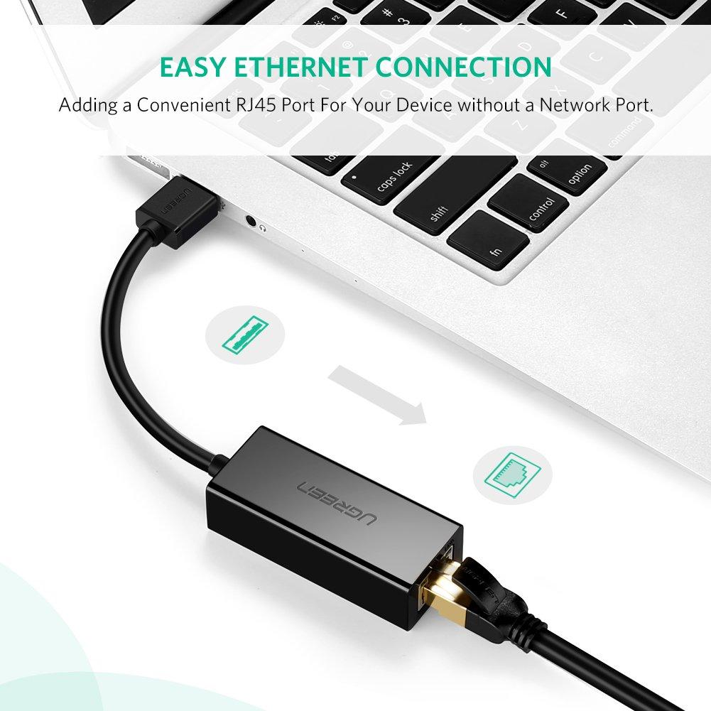 UGREEN LAN Adapter USB 2.0 Netzwerk USB zu RJ45: Amazon.de: Computer ...