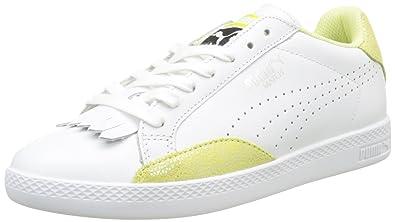 Neue Puma Match Lo Reset Sneaker Damen Weiß Auf Verkauf