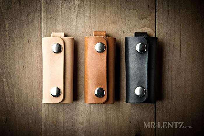Leather Key Wrap Key Cover Leather Key Pocket Made In Usa By Mr Lentz 096