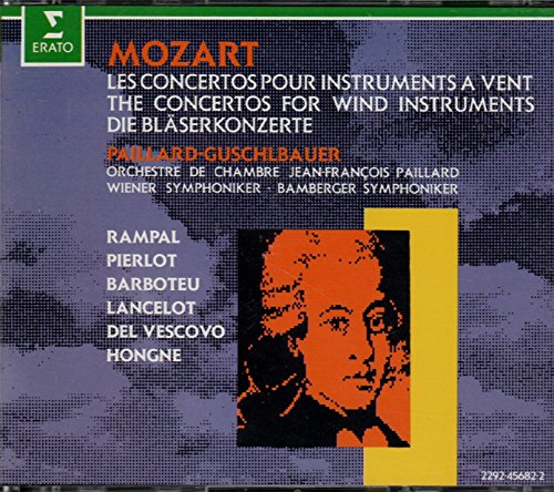 - Mozart: The Concertos for Wind Instruments