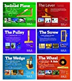 Simple Machines Poster Series of 6 Laminated Posters For Science and Technology Classrooms