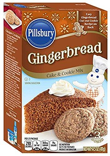 Pillsbury Gingerbread Mix, 14.5 Oz (Pack of 2)