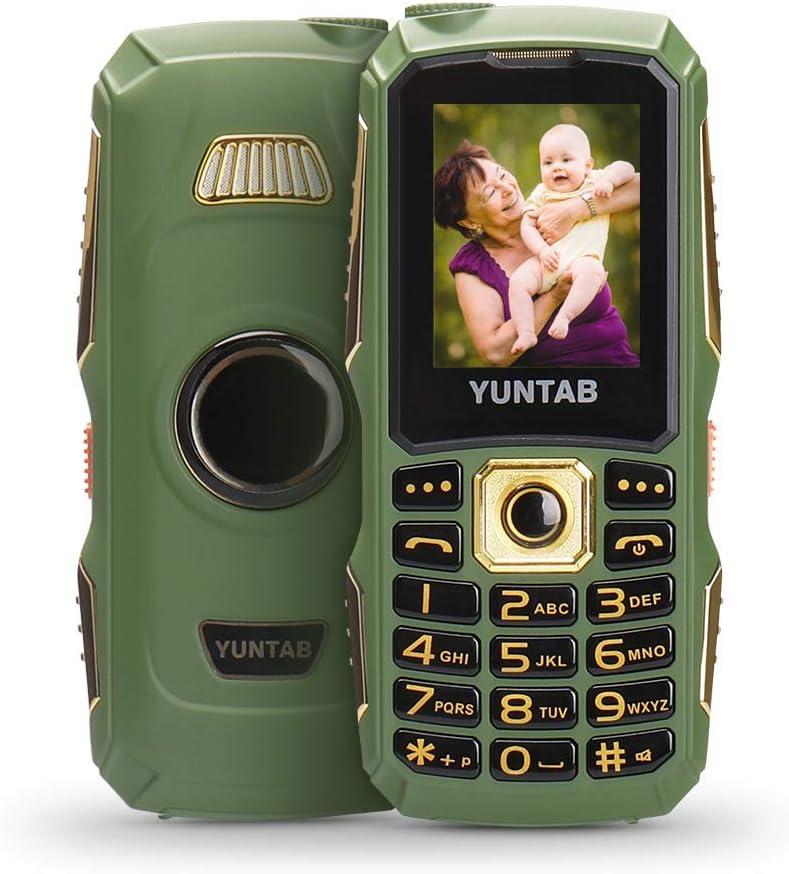 YUNTAB Teléfono Móvil 2G para Personas Mayores,Botón Grande ...