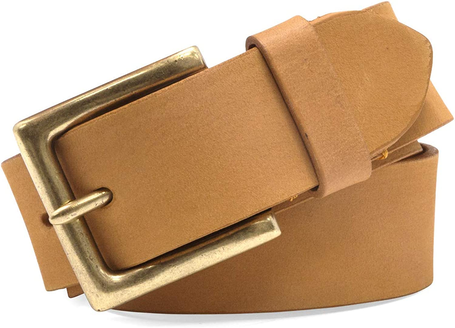 Timberland Mens 38mm Boot Leather Belt