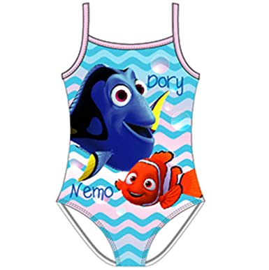 Disney Finding Nemo Finding Dory Girls Swimming Costume Swimwear