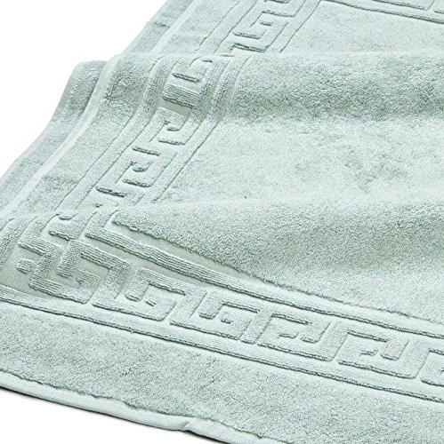 Superior Hotel & Spa Quality Bath Mat Set of 2, Made of 100% Premium Long-Staple Combed Cotton, Durable and Washable Bathroom Mat 2-Pack - Sage, 22'' x 35'' each by Superior (Image #2)