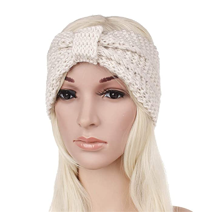 e6e8fbcda1c EERA Women Winter Hats Wool Solid Ear Protect Cap Fashion Winter Knitted  Hat Female Skullies Beanies Hair Accessories  Amazon.ca  Clothing    Accessories