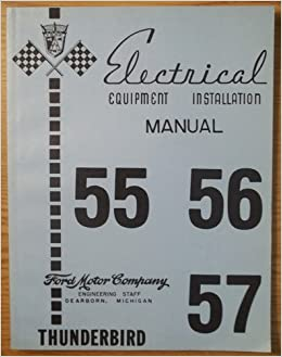 Electrical Equipment Installation Manual 55 56 57 Thunderbird