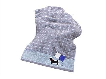 TjcmSs Cartoon Dog Cotton Kid Wash Toalla para la Cara Pareja Toalla para Limpiar Hands Square Towel (Gray): Amazon.es: Deportes y aire libre