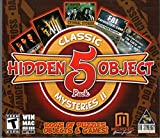 Hidden Object 5 Pack CLASSIC MYSTERIES II: Criminal Stories: Presumed Partners + XIII: Lost Identity + Blake & Mortimer + CIA: Petrodollars + FBI: Paranormal Case