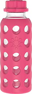 product image for Lifefactory, Bottle Flat Cap Raspberry 9 Ounce