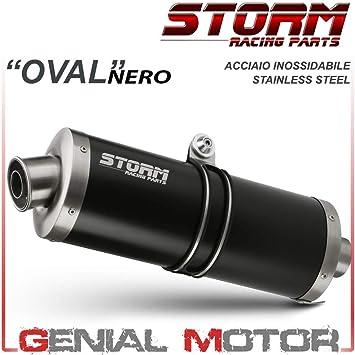 74.K.015.LX2 Scarico Storm by Mivv Oval acciaio inox per Versys 650 2007 07