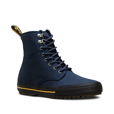 Dr. Martens - Herren Winsted Canvas 8 Augen Boot, 48 EUR, Navy Canvas 4d8abf1af4