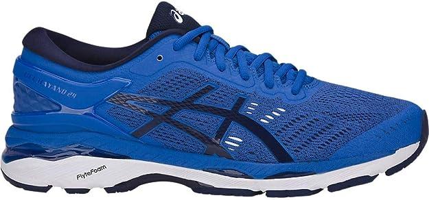 ASICS Men's Gel-Kayano 24 Running Shoes, 6M, Victoria Blue/Indigo Blue/Whit