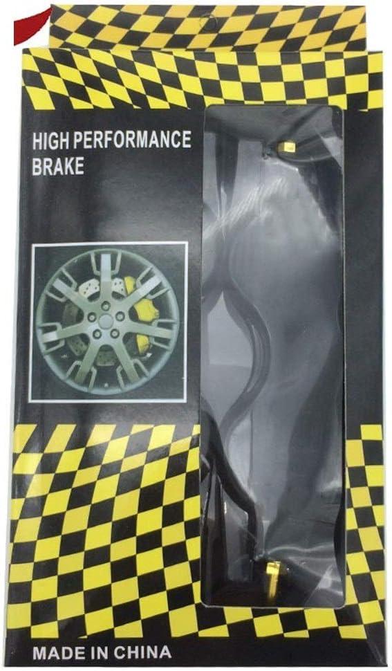 Color Name : Black Couvercles de l/étrier 7 Couleurs En Plastique ABS /Étrier De Frein Disc Cover Sans Logo Avant Et Arri/ère For BMW For Audi For Mercedes Benz
