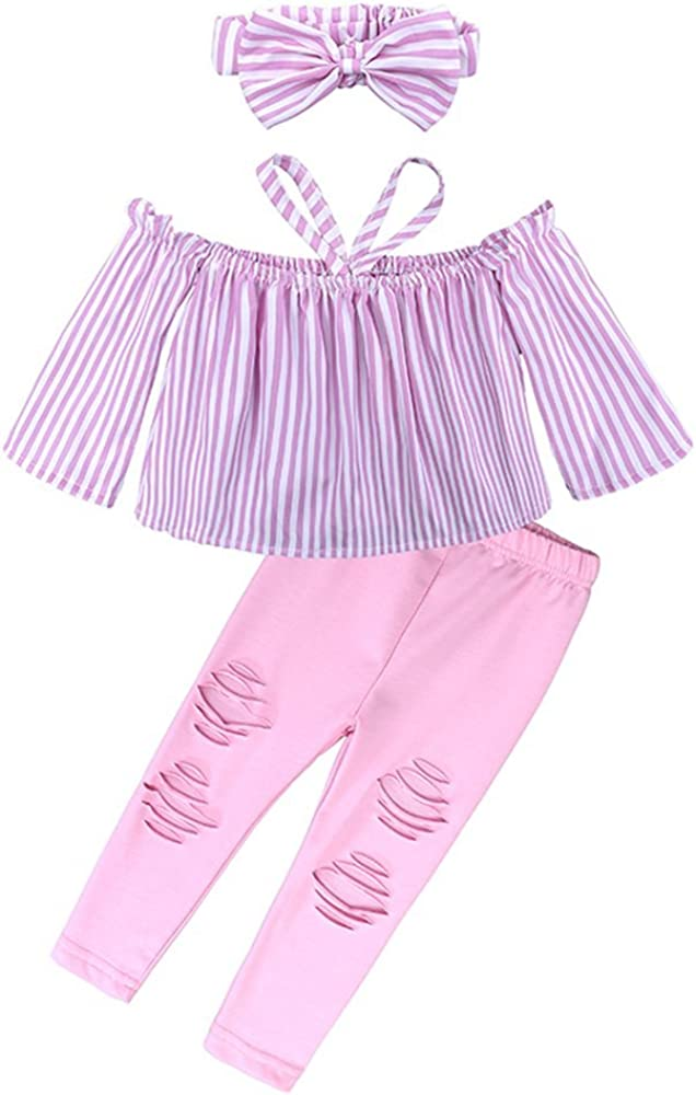 Hello Kitty Little Girls Purple Bow Strap Sleeve 2 Pc Pants Set 4-6X