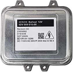 - 2 Year Warranty Single - 1 PCS D1S//D1R XtremeVision OEM Replacement Ballast Compatible with Mitsubishi W003T22071 Xenon HID Ballast
