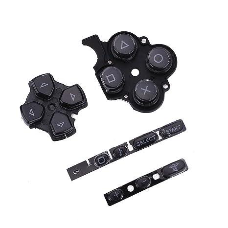 Jiayuane Botones Reemplazo de la reparación del Teclado para PSP 3000 Slim Game Controller