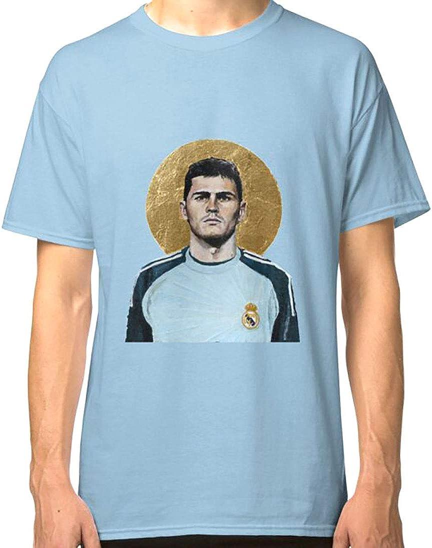 Iker Casillas Football Icon - Camiseta clásica: Amazon.es ...