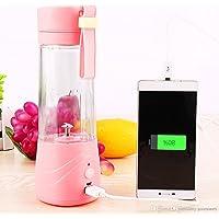 YFXOHAR 380ml Multifunctional Portable Rechargeable Electric Water Bottle Juicer