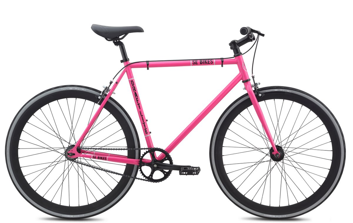 SeドラフトLite single-speed City Bike – 2015 B017TEZSKGピンク 55