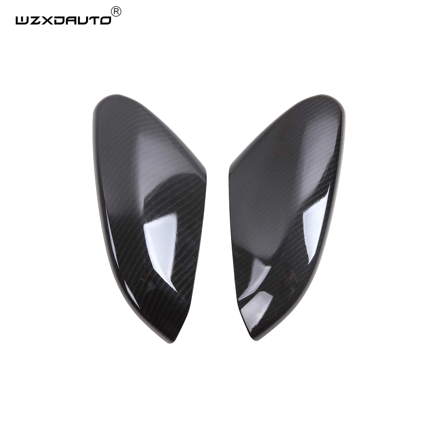 WZXDAUTO Carbon Fiber Style Print for Civic Wing Mirror Cover Rearview Mirror Cover Trims for Honda Civic Sedan Coupe 2016 2017 2018 2019