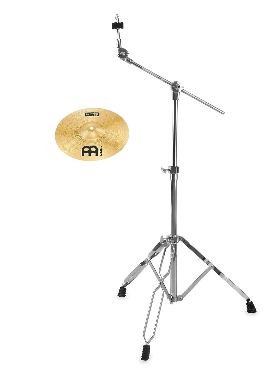 Meinl HCS 10 Splash Set (MS63 Legierung, Finish: Regular, inkl. Galgenbeckenständer) Meinl Cymbals
