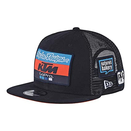 Troy Lee Designs 2018 KTM Team Snapback Hat-Charcoal at Amazon Men s  Clothing store  c1a2d26d7a9