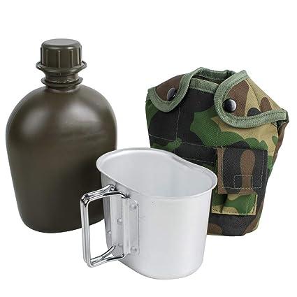 Finlon Military Canteen - Cantimplora de Acero Inoxidable ...
