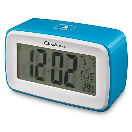 Amazon.com: Chelvee Alarm Clock, Recording Digital Smart ...