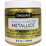 Decoart DECADMTL-36.4 Ameri Deco Mtlc 8oz 24K Gold Americana Decor Metallics 8oz 24K Gold