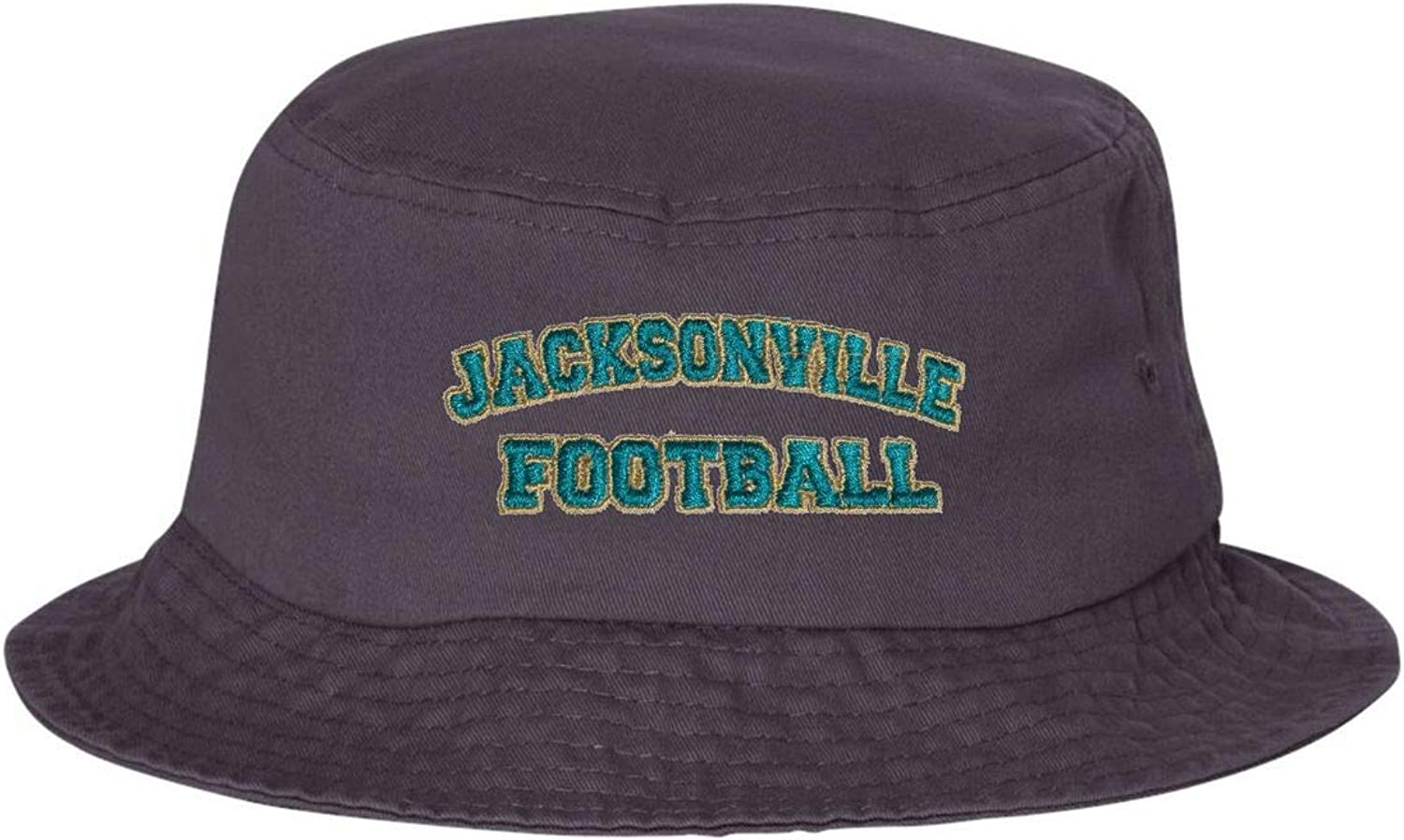 Go All Out Adult Jacksonville Football Embroidered Bucket Cap Dad Hat