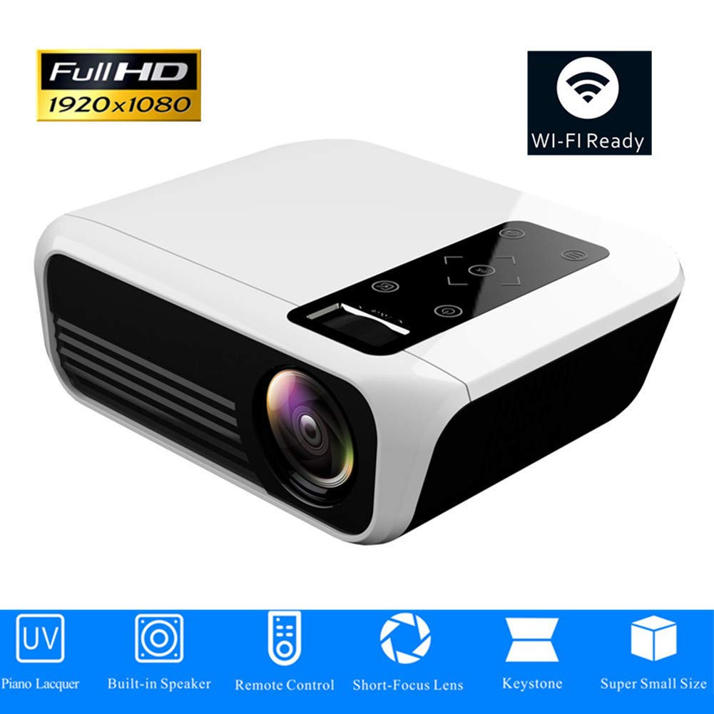 ZXL Proyector LED 1920 * 1080 Full HD 1080P Android 7.1 3000 ...