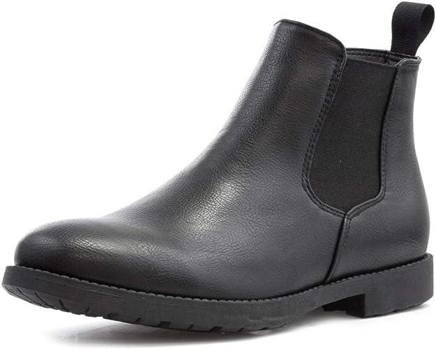 mens black chelsea boots uk